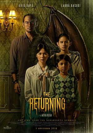 The returning Movie Poster