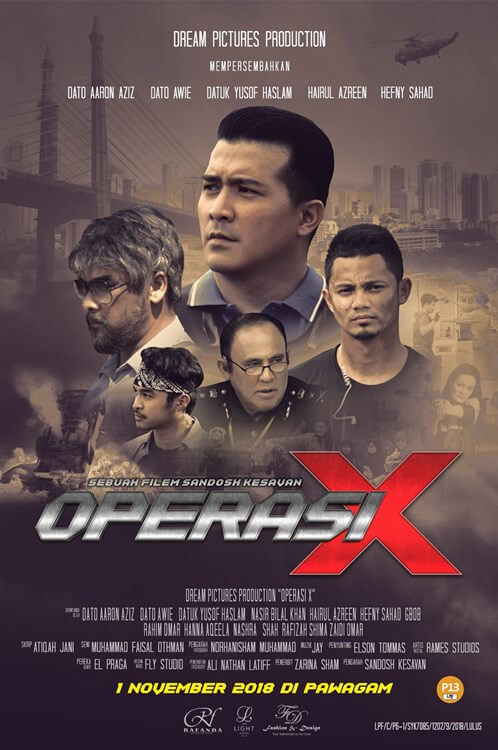 Operasi X Movie Poster