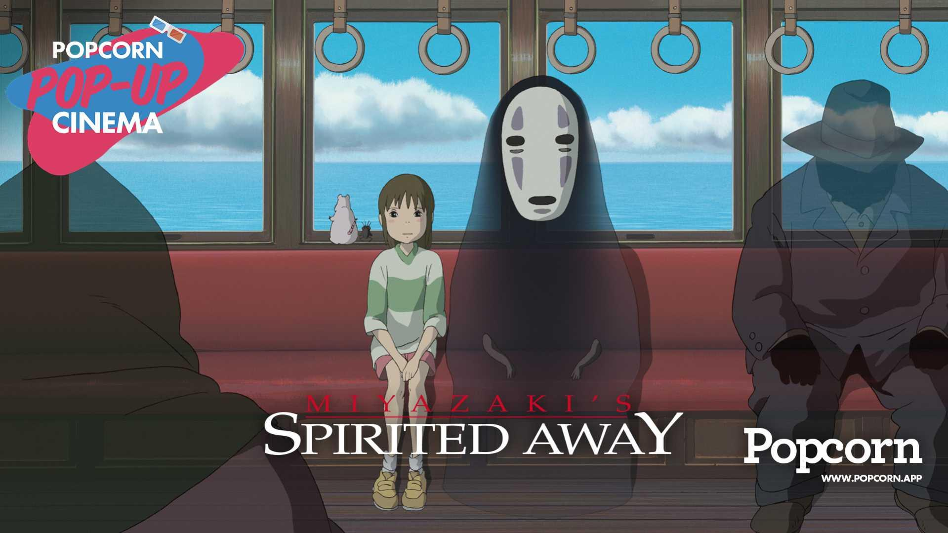 Spirited Away Pop-Up Cinema by Popcorn App