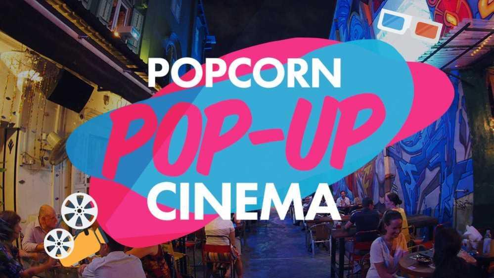 Pop-Up Cinema by Popcorn App